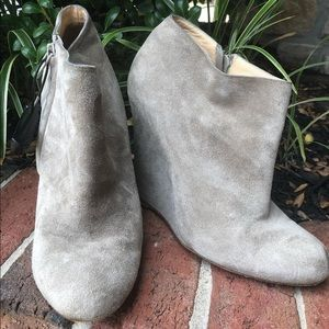 Christian louboutin Suede 36 Wedges Boots